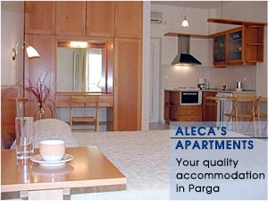 Aleca's Apartments - Quality accommodation in Parga